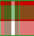 color plaid fabric texture seamless pattern vector image