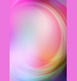 Curved abstract with colorful background