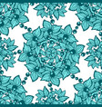 seamless pattern with circle ornament made from vector image vector image