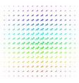 trend icon halftone spectrum effect vector image vector image