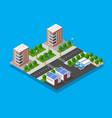 architecture city vector image