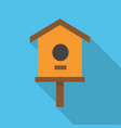 comfortable nesting box vector image
