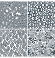 Decorative Patterns vector image vector image