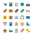 e-commerce icon set vector image vector image