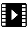 media marketing isolated icon vector image