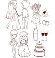A wedding vector image vector image