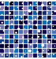 abstract tile background vector image vector image