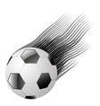 ball on a white background vector image vector image