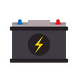 battery flat vector image vector image