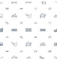 cement icons pattern seamless white background vector image vector image