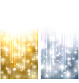 Christmas abstract banners vector image