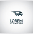 fast truck icon trendy simple symbol concept vector image