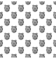 Head of a lion seamless pattern vector image