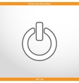 on off switch web flat icon vector image