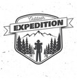 Outdoor expedition badge