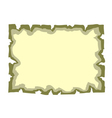 Parchment paper Empty banner vector image vector image