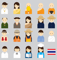 People Thai vector image vector image