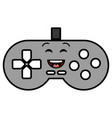 video game control kawaii character vector image