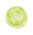 Watercolor Blob vector image vector image