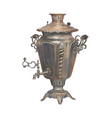 watercolor russian samovar isolated vector image vector image