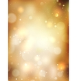 Christmas Golden Background EPS 10 vector image