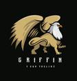 griffin logo vector image