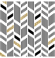 Seamless Chevron Pattern Art Deco Abstract vector image vector image