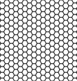 seamless honeycomb vector image vector image