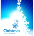 shiny christmas background vector image