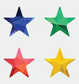 star icon Abstract Triangle vector image