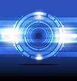 abstract energy concept background design vector image vector image