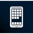 app phone icons the website isolated speech vector image vector image
