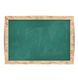 blackboard for your message alphabet vector image