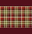 british classic check plaid seamless pattern vector image