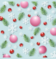 christmas background newyear card design vector image