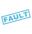 Fault Rubber Stamp vector image vector image