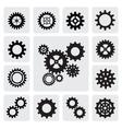 gearwheel mechanism icon vector image vector image
