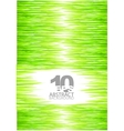 green summer grass background vector image vector image