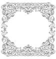ornament border vector image vector image