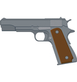 Pistol vector | Price: 1 Credit (USD $1)