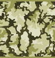 seamless military camouflage vector image