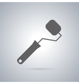 Icon painting roller vector image