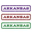 arkansas watermark stamp vector image