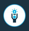 best solution icon colored symbol premium quality vector image