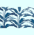 botanical seamless pattern vector image