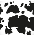 Cow blotchy skin background vector image
