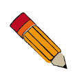 japanese artistic pencil object traditional vector image