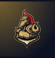 knight logo vector image vector image