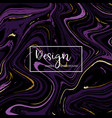 modern marble design for invitation vector image vector image