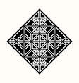 sacred geometry 0081 vector image vector image